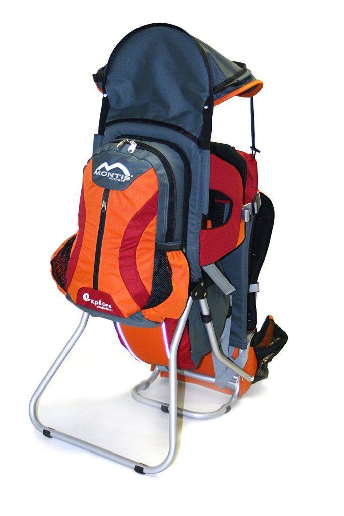 mochila montaña bebe